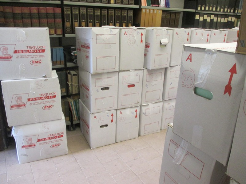 AAS' Archive boxes