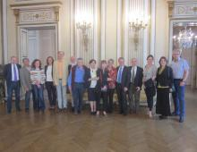 In der Italienischen Botschaft in Wien!
